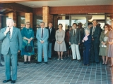 GLAICA House Mark 1 Opening by Bruce Cowan MP - 31 August 1985