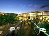 GLAICA House Courtyard Night